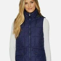 Columbia  Lone Creek Hooded Insulated Vest  Plus Size 3x  Nightshade Blue Photo