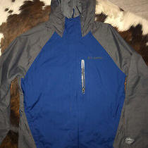 Columbia Medium Omni- Heat Jacket Blue/silver Photo
