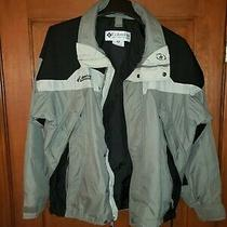 Columbia Men Rain Jacket Size M Photo