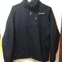 Columbia Mens Ascender Ii Softshell Black Jacket Large  Photo