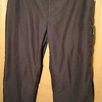 Columbia Men's Black Outdoor/adventure/hiking/ Athletic Pants Sz 36x29.5
