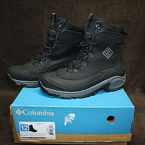 Columbia Men's Bugaboot  Size 12  Black 200 Gramswaterproof New Other Read Photo