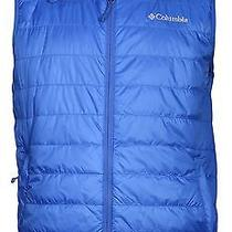 Columbia Men's Crested Butte Omni-Heat Vest-Blue-Xl Photo