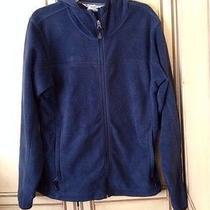 Columbia Men's Jacket Zip Front Size M River Blue Color Photo