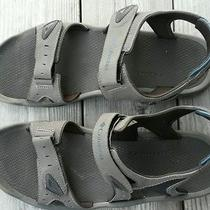 Columbia Men's Outdoor Comfy Sport Sandals Size 13 Gray Euc Photo