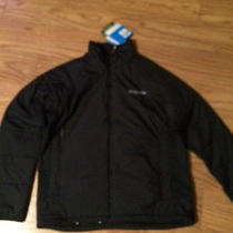 Columbia Men's Premier Packer Omni-Heat Hybrid Jacket Size L Nwt Black Photo
