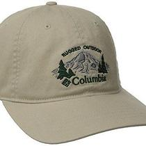 Columbia Men's Roc Graphic Ballcap Fossil/pinewood Embed One Size Photo