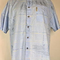 Columbia Mens Short Sleeve Button Down Shirt Xl River Lodge Photo