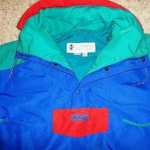 Columbia Men's Ski Jacket Radial Sleeve 1/4 Zip Pullover Water Resistant Size M Photo