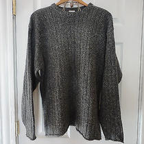 Columbia Men's Sweater Cable Knit Gray Size Large L Photo