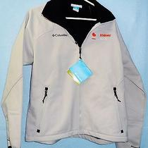 Columbia Men's Water Repellant Size Medium Shelby's Softshell Jacket  Nwt Photo