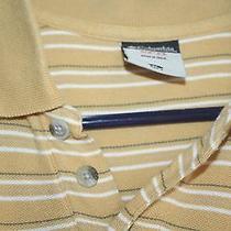 Columbia Mens Shirt Medium Large Polo Stripes Photo
