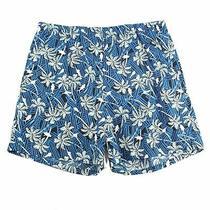 Columbia Mens Swimwear Blue Size Large L Tropical Print Trunks Shorts 35 189 Photo