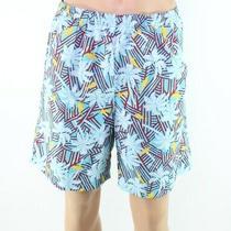 Columbia Mens Swimwear Blue Size Medium M Trunks Palm Tree Tropical 35 473 Photo