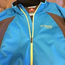 Columbia Mens Tectonic Softshell Omni Heat Windbreaker Photo