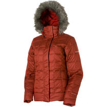 Columbia Mercury Maven Down Jacket-Red Element-Women's Coat Photo