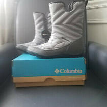 Columbia Minx Slip Iii Waterproof Boots Grey Steel and Black 7 Photo
