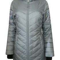 Columbia Morning Light Long Hooded Omni Heat Coat Jacket Grey Sz Xs Nwt Photo