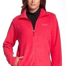 Columbia New Skyy Fleece Jacket Womens Color  Graphite Size Small Photo