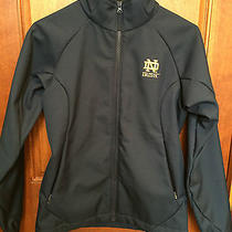 Columbia Notre Dame Irish Blue Softshell Jacket Women's Size Small Photo