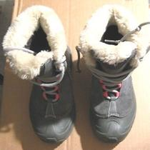 Columbia Omni-Heat Boys Winter Boots Sz 1 Premium Insulation Snow Cold Weather Photo