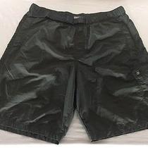 Columbia Omni-Shade 100% Nylon Shorts Men's M Cargo Pocket Inner Mesh Brief Photo