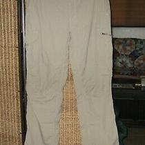 Columbia Omni-Shade Men's Kestrel Ridge Cargo Pants Upf 50  Size 36  Olive/khaki Photo
