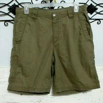 Columbia Omni Shield Men's Cargo Bermuda Shorts  Size 34  Tan   Photo