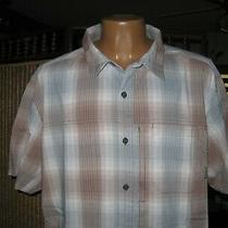 Columbia Omni-Wick Men's Global Adventure S/s Plaid Shirt Upf 15  Multicolor Xxl Photo