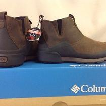 Columbia Original Woodshed Omni-Heat Waterproof Slip-on Boots - Men's 8 Photo
