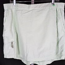 Columbia Outdoor Active Skorts Womens 10 Green Photo