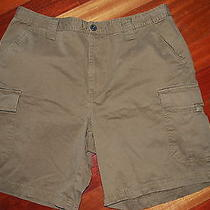 Columbia Outdoors Hiking Outdoors Brown Cargo Shorts Men's Size 36 Xm4250 Photo