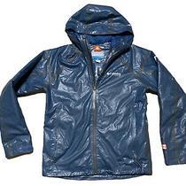 Columbia Outdry Pfg Titanium Insulted Rain Jacket Mens Size Medium Blue Outdoor Photo