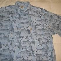 Columbia Pfg Fishing Print Shirt Size Xl Photo