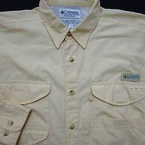 Columbia Pfg Fishing Shirt S  100% Cotton  Performance Fishing Gear  Photo