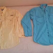 Columbia Pfg Fishing Shirts (Lot of 2) Photo
