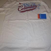 Columbia Pfg Fishing T-Shirt S/s Tee M Sz Medium Men's
