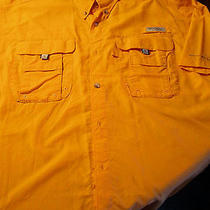 Columbia Pfg Mens Medium Vented Fishing Shirt  Photo