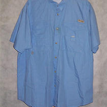 Columbia Pfg Vented Fishing Shirt sz.xxl Blue Photo
