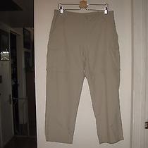Columbia Pfg Women's Aruba Ii Convertible Pants Upf 30   Large  Fossil   Photo