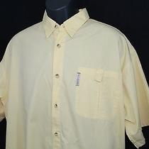 Columbia Pfg Yellow Fishing Shirt - Marlin Fishing Graphic on Back Size Large Photo