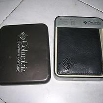 Columbia Pocketmate Wallet Black New in Box/columbia Wallet Black in Box  Photo