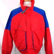 Columbia Powder Keg Multi Color Radial Sleeve Nylon Jacket Mens Xl Photo