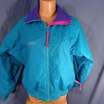 Columbia Radial Sleeve Fleece Lined Zip Up Jacket Women's Size M Nice Photo
