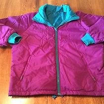 Columbia Radial Sleeve Fuchsia/teal Reversible Coat Jacket Women's Size Xl Euc Photo