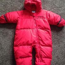 Columbia Red 12 Month Snow Suit Photo