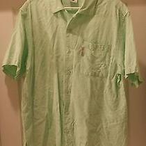 Columbia River Lodge Button-Front Shirt Men L Photo