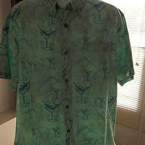 Columbia River Lodge Mens Hawaiian Style Shirt.  Size Xl  Photo