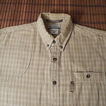 Columbia River Lodge Padded Shoulder Shooting Shirt Size Medium Mens Photo