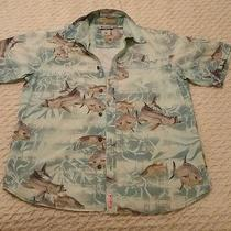 Columbia River Lodge S/s Vented Fishing Shirt Medium Photo